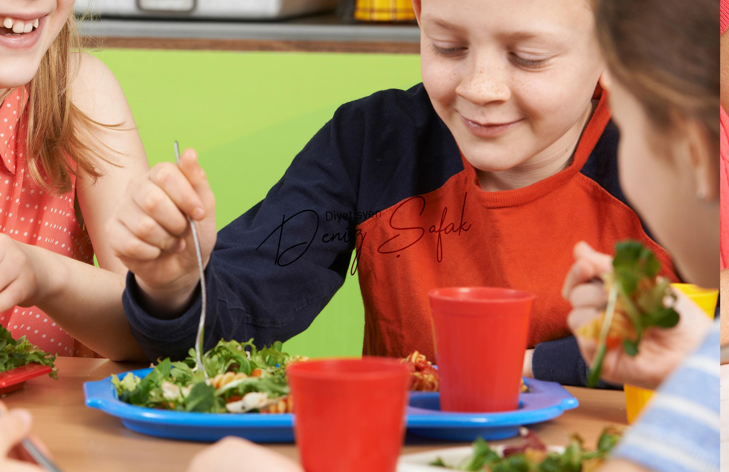 Okul Dönemi Çocuklarda Beslenme